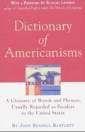 Dictionary of Americanisms