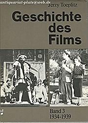Geschichte Des Films, Band 3;  1934 - 1939;