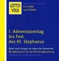 Gottes Volk, Lesejahr B 2006, 8 CD-ROMs u. Sonder-CD, Nr.1 : Erster Adventssonntag bis Fest des Hl. Stephanus