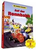 Auf der Rennbahn, Bilderbuch u. Spielfiguren