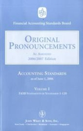 Original Pronouncements, Volume 1, 2, 3: 1-3 (Original Pronouncements: Accounting Standards);