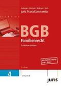 juris Praxiskommentar BGB Gesamtausgabe: juris Praxiskommentar BGB 4. Familienrecht: Bd. 4;