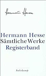 Sämtliche Werke in 20 Bänden und einem Registerband: Register: Bd. 21