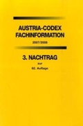 Austria-Codex, Fachinformation 2007/2008