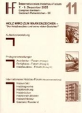 11. Internationales Holzbau-Forum, 2 Bde.;