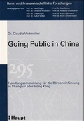 Going Public in China;