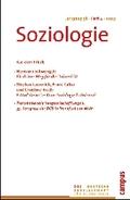 Soziologie Jg. 38 (2009) 4: Forum der Deutschen Gesellschaft für Soziologie ISSN 0340-918X