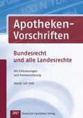 Apotheken-Vorschriften CD-ROM;