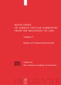 the Austrian Academy of Sciences, ; Birkhan, Helmut; Lichtblau, Karin; Tuczay, Christa: Motif-Index of German Secular Narratives from the Beginning to ... Narritives from the Beginnungs to 1400)