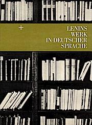 Lenins Werk in deutscher Sprache.
