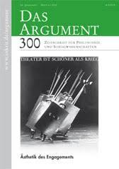 Das Argument (300) - Ästhetik des Engagements