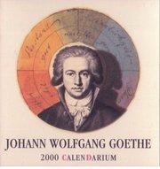 Johann Wolfgang Goethe 2000 Calendarium
