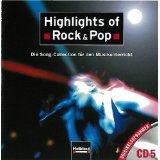 Highlights of Rock & Pop. AudioCD 5: Die Song-Collection für den Musikunterricht. Originalaufnahmen CD 5