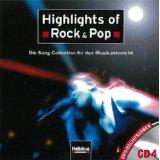 Highlights of Rock & Pop. AudioCD 4: Die Song-Collection für den Musikunterricht. Originalaufnahmen CD 4