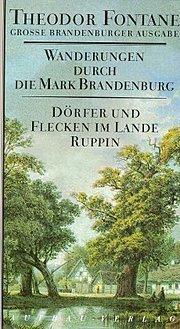 Wanderungen durch die Mark Brandenburg, 8 Bde., Bd.6, Dörfer und Flecken im Lande Ruppin