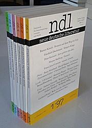 Neue Deutsche Literatur - Jahrgang 45. (6 Hefte - 1997)
