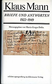Briefe und Antworten 1922-1949. 362 Briefe und 99 Antwortbriefe