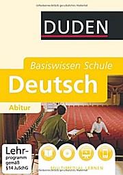 DUDEN Basiswissen Schule– Deutsch –
