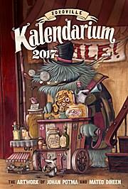 Zozoville Kalendarium 2017: The artwork of Johan Potma and Mateo Dineen