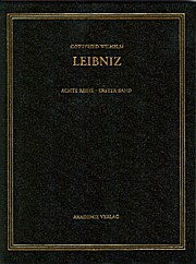 Gottfried Wilhelm Leibniz. Sämtliche Schriften und Briefe: 1668-1676