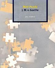 Mini-Puzzle J. W. v. Goethe