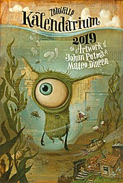 Zozoville Kalendarium 2019: The artwork of Johan Potma and Mateo Dineen