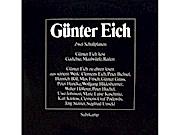 Günter Eich - liest Gedichte, Maulwürfe, Reden [Vinyl LP record] [Schallplatte]
