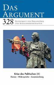 Das Argument 328 – Krise des Politischen II