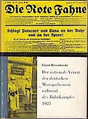 Der nationale Verrat der deutschen Monopolherren während des Ruhrkampfes 1923