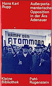 Außerparlamentarische Opposition in der Ära Adenauer