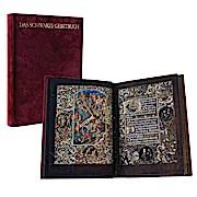 Das schwarze Gebetbuch: (Gebetbuch d. Galeazzo Maria Sforza); Vollständiges Faksimile des Codex 1856 d. Österr. Nationalbibliothek in Wien.