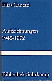 Aufzeichnungen 1942-1972