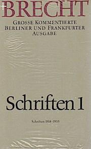 Werke. Große kommentierte Berliner und Frankfurter Ausgabe.: Schriften 1: Große kommentierte Berliner und Frankfurter Ausgabe, Band 21