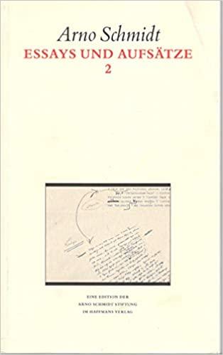 Essays und Aufsätze II: Studienausgabe