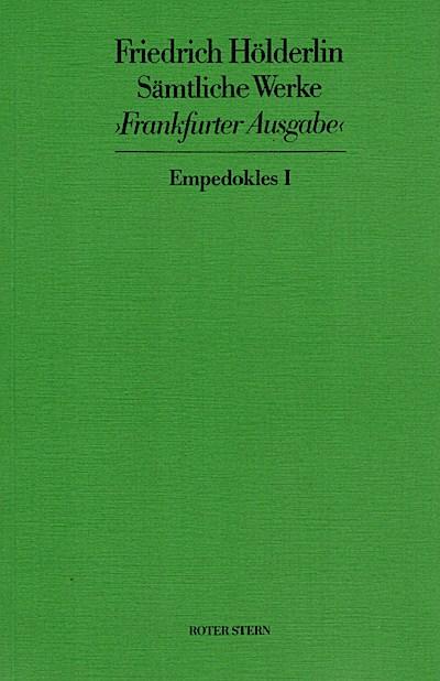 Empedokles I/II, Bd 12/13