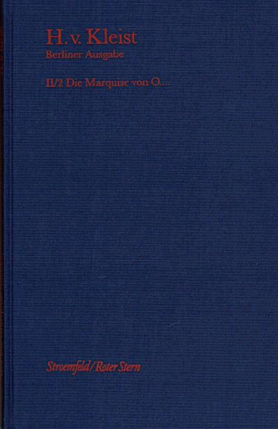 Brandenburger Ausgabe, BKA II/2 Die Marquise von O