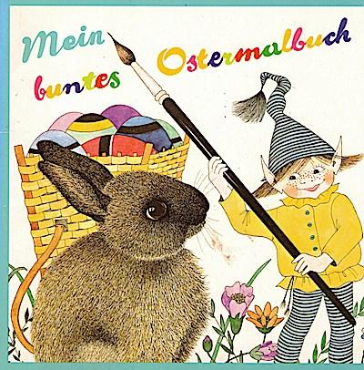 Mein buntes Ostermalbuch
